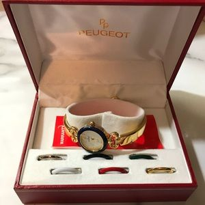Peugeot Watch Set NIB